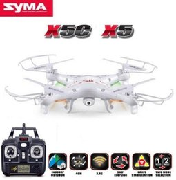 Toy Control Camera Australia - Original SYMA X5C (Upgrade Version) RC Drone 6-Axis Remote Control Helicopter Quadcopter With 2MP HD Camera or X5 Dron No Camera