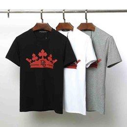 popular brand t shirts 2019 - 2019 Factory direct sale Men Designer Men Brand Fashion Luxury Short Sleeve Mens Clothes Popular Pattern Breathable T Sh