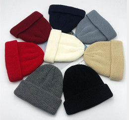 $enCountryForm.capitalKeyWord Australia - 2020 new Autumn and Winter New Cold Cap Wool Cap Short Yapi Male Landlord Melon Skin Knitted Female Cap WL809