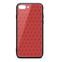 Coque Iphone 8 Plus, Coque iPhone 7 Plus - Metallica King en métal noir 9H - Verre Trempé Précédent TPU Bumper Shuffproof Phone Case en Solde