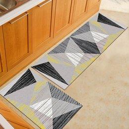 Lavable antideslizante largo cocina estera del piso Baño Entrada Mat puerta del dormitorio sala de estar de noche Alfombras Tapete Tapis en venta