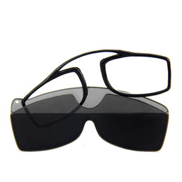a9459d6465 TR90 Pince Nez Style Nose Resting Pinching Portable Pince-Nez Reading  Glasses No Arm Old Men Women