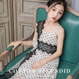 $enCountryForm.capitalKeyWord Australia - 2019 summer new children's dress girl girls polka dot lace dress summer thin