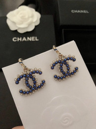 898c0b5a9 Beautiful drop earrings online shopping - Hot sell Exquisite design very  beautiful classic shape blue with