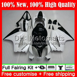 honda vfr interceptor fairings UK - Body For HONDA Interceptor VFR800RR 02 08 09 10 11 12 69MT21 VFR800 RR VFR 800 RR 2008 2009 2010 2011 2012 Fairing Bodywork White black