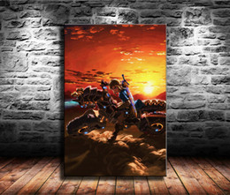 $enCountryForm.capitalKeyWord Australia - 1 Pieces Canvas Prints Wall Art Oil Painting Home Decor Legend of Zelda,Breath of the Wild (Unframed Framed) 24x36.