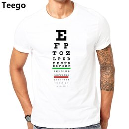 Visions design online shopping - Tee Shirt Design Eye Vision Chart Funny Optometrist Optometry Glasses Mens T Shirt Hop Tt shirt For Men Cotton Uniform