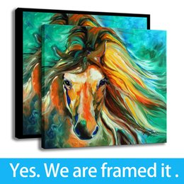 Support Painting Australia - HD Print Canvas Painting Wall Art Decorative Thunder 24 Marcia Baldwin Framed Art - Ready To Hang - Support Customization