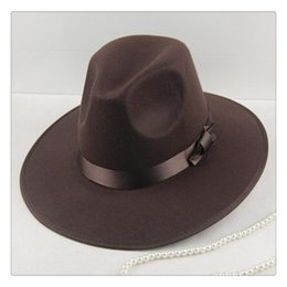80ae42d791371 Obey Hats Australia - Unisex Wool Felt Fedora Hat Classic Men Wide Brim  Fedoras Jazz Cap