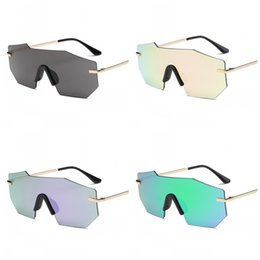 China Outdoor Beach Sunglasses Sunscreen Eyeglass Unisex Ultraviolet Proof Spectacles Metal More Color Popular HD Vision Red Green 9ja C1 supplier vision eyeglasses suppliers