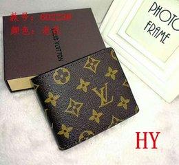 $enCountryForm.capitalKeyWord Australia - 2019 Men's Fashion Wallet Leather Folding Small Wallet Fashion Casual Men's Wallet 60230 Card Pack Coin Bag #60223