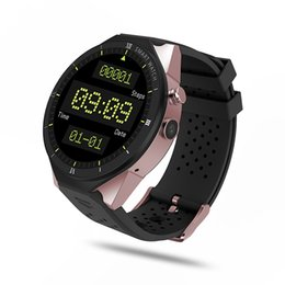 $enCountryForm.capitalKeyWord Australia - 4 colors Smart Watch Men Android 7.1 MTK6580 3G GPS Smartwatch 1GB 16GB Heart Rate Monitor 2MP Camera VS KW99 Z28 I6 I8