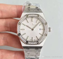 Womens stainless steel rings online shopping - Luxury Watch For Ladys Gift MM Quartz Movement Diamonds Ring Stainless Steel Sapphire womens watches