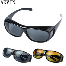 $enCountryForm.capitalKeyWord Australia - High Quality Driving HD Night Vision Yellow Lens Sunglasses Driver Safety Sun glasses Goggles type glass Brand New