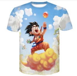 $enCountryForm.capitalKeyWord Australia - 2019 Fashion Dragon Ball Z Super Saiyan Son Goku Anime Summer 3D Print Newest Fashion Tee T Shirts And Blouses Men Cartoon TShirt K1250