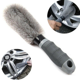 Car washing window brush online shopping - Auto Car Wheel Brush Washing Car Tire Rim Cleaning Handle Brush Tool for Car Truck Motorcycle Bicycle Brush Washing Tool LJJK1149