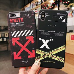$enCountryForm.capitalKeyWord NZ - Europe And The United States Fashion Arrow For Iphone x xs max xr 6 6s 7 8 plus Simple All-Inclusive Anti-Fall Phone Case