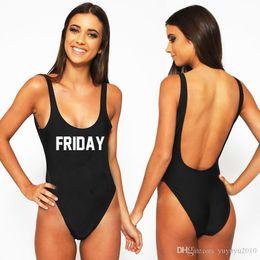 f60074978c94f Sexy Bodysuit Plus Size Swimwear Women Black FRIDAY One Piece Swimsuit  Bathing Suit Beachwear High Cut monokini Girls Swim Suit YWXK