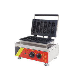 $enCountryForm.capitalKeyWord Australia - BEIJAMEI Factory Commercial muffin hot dog making machine French Electric lolly corn stick Waffle maker baker