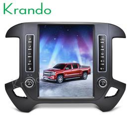 "Chevrolet Cars Australia - Krando Android 7.1 12.1"" Tesla style Vertical car For Chevrolet Silverado GMC Sierra 2014-2018 navigation player GPS car dvd KD-GC452"