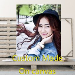 Making sprays online shopping - Custom Made On Canvas Customized With Own Photo Print Your Own Picture Waterproof Printing Customized Artwork Your Picture Poste