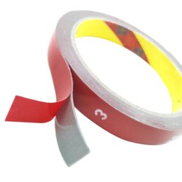 Car Decoration 3m Australia - 1pc 3M Length Double faced Acrylic Foam Adhesive Double Sided Tape Tape Auto Special Sponge Puffs Glue Car Decals Decoration