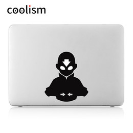 """$enCountryForm.capitalKeyWord NZ - The Last Airbender Avatar Anime Computer Laptop Decal Sticker For Macbook Air pro retina 11"""" 12"""" 13"""" 15"""" Cover Skin On Notebook T6190615"""