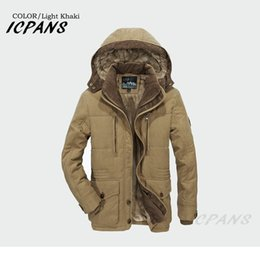 $enCountryForm.capitalKeyWord Australia - ICPANS Fleece Warm Thick Jackets Men Winter Coats Outerwear Windproof Casual Coat With Hooded Mens Parkas Plus size 5XL 6XL