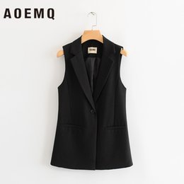 Punk clothing online shopping - AOEMQ Fashion Punk Club Jackets Adult Vest Solid V Neck Sleeveless Jackets Outwear Fall Clothing with Single Button Clothing