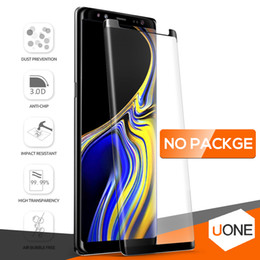 BuBBles case online shopping - Case Friendly For Samsung Galaxy S9 S8 Plus Note S7 Edge Note9 Full Cover D Tempered Glass Bubble Free Screen Protector NO Package