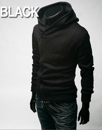 Wholesale assassins creed hoodie colors online – oversize fashion New Stylish Creed Hoodie Slim Men s Assassins Jacket Male zipper Costume Men s COAT Colors