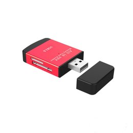multi reader Australia - All In One USB 2.0 Multi Memory Card Reader for Micro SD TF M2 MMC SDHC MS Free DHL