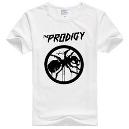 Wholesale Rock Band Shirts Australia - Asian Size Men Women Print The Prodigy Experience Metal Rock Band T-shirt O-neck Short Sleeve Polyester T-shirt Hcp622