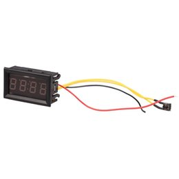 4 Digit 0.4inch LED Digital Electronic Clock for Car Motorcycle Motor (Blue) on Sale