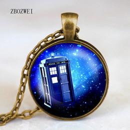 $enCountryForm.capitalKeyWord Australia - 2   Steamed steampunk theater doctor who tardis necklace purple nebula chain men's pendant jewelry