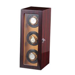 $enCountryForm.capitalKeyWord NZ - Watch Winder ,LT Wooden Automatic Rotation 4+0 Watch Winder Storage Case Display Box (black-white)