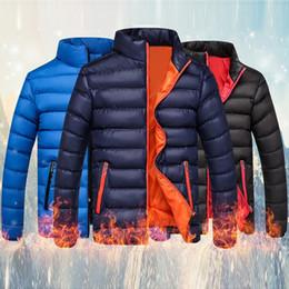 $enCountryForm.capitalKeyWord Australia - Winter Jackets Parka Men Autumn Winter Warm Outwear 2019 New Slim Mens Coats Casual Windbreaker Quilted Jackets Men