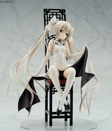 Wholesale girl sexy pvc dress resale online - Skytube Yosuga no Sora Kasugano sora Sexy Girl Dress Cheongsam Ver Anime PVC Action Figure Collection Model Toys New lelakaya T200118