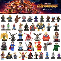 $enCountryForm.capitalKeyWord Australia - Building Block Puzzle Super heros Marvel Toys Captain America deadpool Batman thanos Hulk Ironman Superman Spiderman ironman Mini Figure