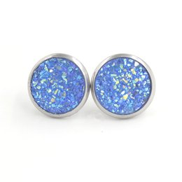 Horn Chains Australia - kendra scott jewelry mothers day designer bracelet gold chain designer jewelry geometric fluorescent earring leather earrings Round