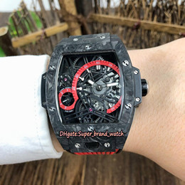$enCountryForm.capitalKeyWord NZ - 3-Color Best-version Spirit of Bang 42MM 645.QN.1117.RX Luminous Carbon Fiber Case Miyota Automatic 28800 hertz Red Dial Mens Sport Watches