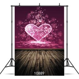 custom photography prop 2019 - SHENGYONGBAO Art Cloth Custom Photography Backdrops Prop Valentine's day Theme Photography Background 10889 cheap c