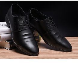 $enCountryForm.capitalKeyWord Australia - 2019 new men's shoes casual business business dress pointed head tether low with fashion trend breathable office shoes