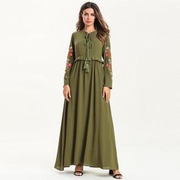 b45f40b90b 7560 Women Abaya Moroccan Dubai Turkey Kaftan Turkish Bandage Muslim Dress  Islamic Clothing Bangladesh Caftan Ramadan Robe vestidos