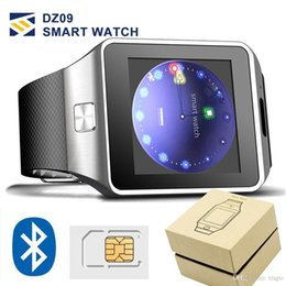 Smart watch for iphone android online shopping - DZ09 Bluetooth smart watch for apple watch android smartwatch for iPhone Samsung smart phone with camera dial call answer Passometer