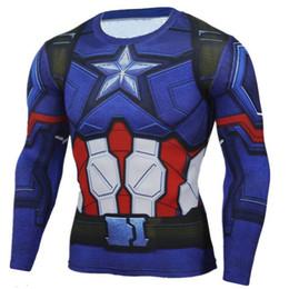 $enCountryForm.capitalKeyWord Australia - Mens Compression Shirts 3D Teen Wolf Jerseys Long Sleeve T Shirt Fitness Men Lycra MMA Crossfit T-Shirts Tights Brand Clothing C6