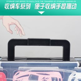 car hand wheel Canada - K136a Alloy Truck Model Storage Box Model Children Toy Car Hand Inertia Mop Head Container