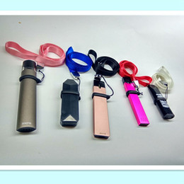 String clipS online shopping - Lanyard clips necklace string neck chain strap for coco myle mt phix jul smpo ego evod battery flat vape pen with silicone o ring
