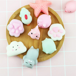 $enCountryForm.capitalKeyWord Australia - Mini Squishy Toy Seal Cute Phone Straps Slow Rising Soft Press Squeeze Kawaii Bread Cake Kids Toy Phone DIY Accessories
