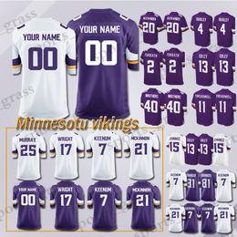 c0853163d custom Game Minnesota Viking Jersey 82 Rudolph 99 Danielle Hunter 28 Adrian  Peterson 97 Everson Griffen 54 Kendricks 56 Doleman Jerseys men